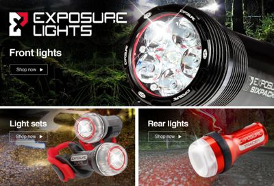 Exposure Lights & Exposure Lights | Chain Reaction Cycles