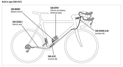 Shimano_InternalDI2_WireDiagram?wid=800& shimano ultegra 6870 di2 groupset chain reaction cycles  at bayanpartner.co