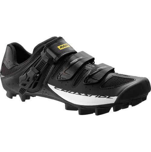 Mavic Crossride SL Elite MTB SPD Shoes - Wide 2016. Black - White