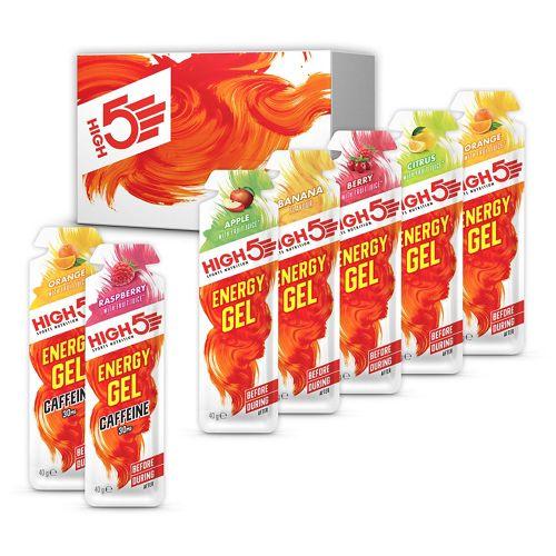 Comprar Caja variada de geles energéticos High5 (38 gr x 20)
