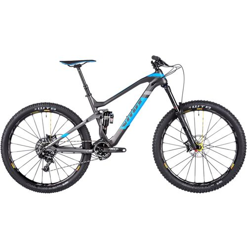 Picture of Vitus Sommet CRX FS Bike - Carbon Sram X1 1x11 2017