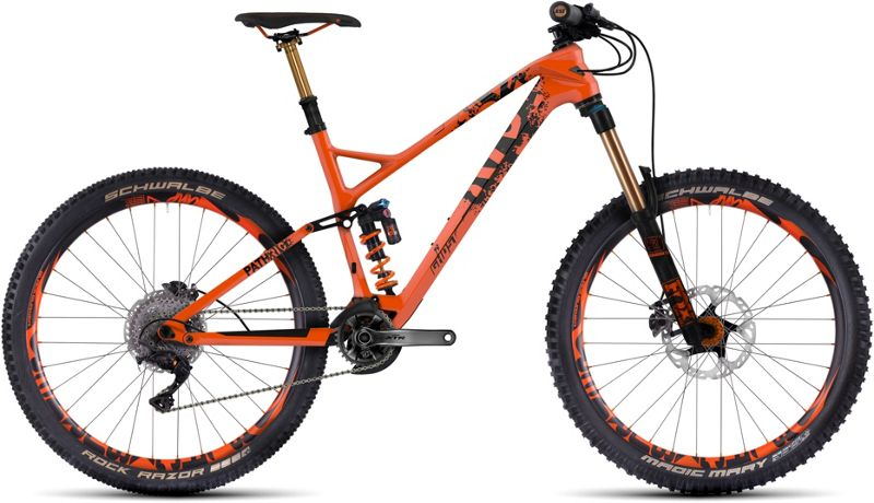 Ghost Path Riot 10 Carbon Suspension Bike 2017