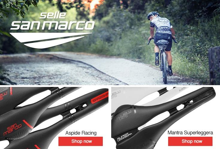 Road Bike Bicycle Cycling Saddle Seat Full Black San Marco ERA Mountain MTB