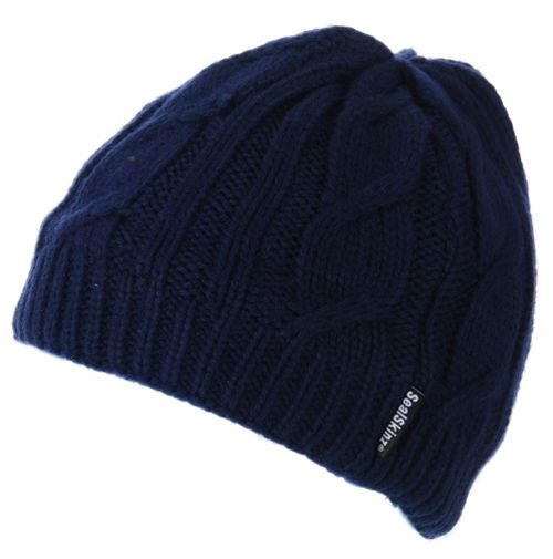 59d192498a6 SealSkinz Waterproof Cable Knit Beanie Hat AW16