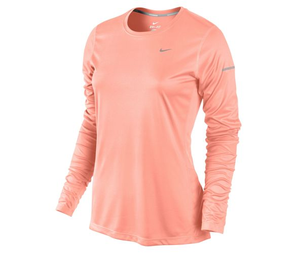 cdc3772b Nike Miler Womens Long Sleeve Top SS14 | Chain Reaction Cycles