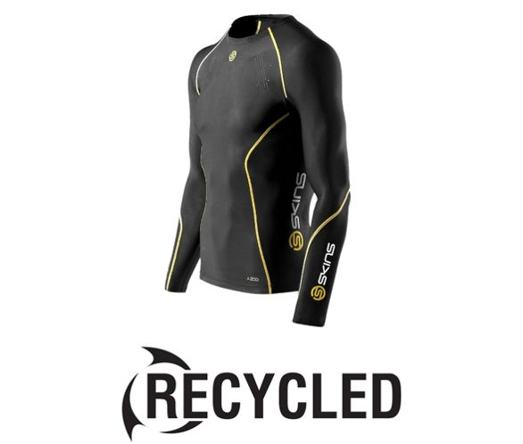 Fitness, Running & Yoga Hot Sale Skins A200 Long Sleeve Compression Top Long Sleeve Shirt Fitness Sport Shirt