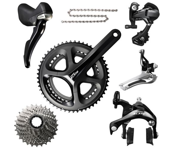 941f9c1323a Shimano 105 5800 11-Speed Groupset | Chain Reaction Cycles