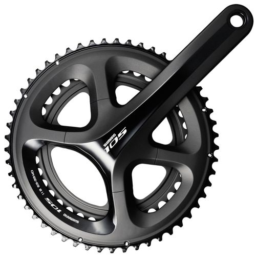 Shimano 105 5800 11 Speed Compact Chainset Chain Reaction Cycles