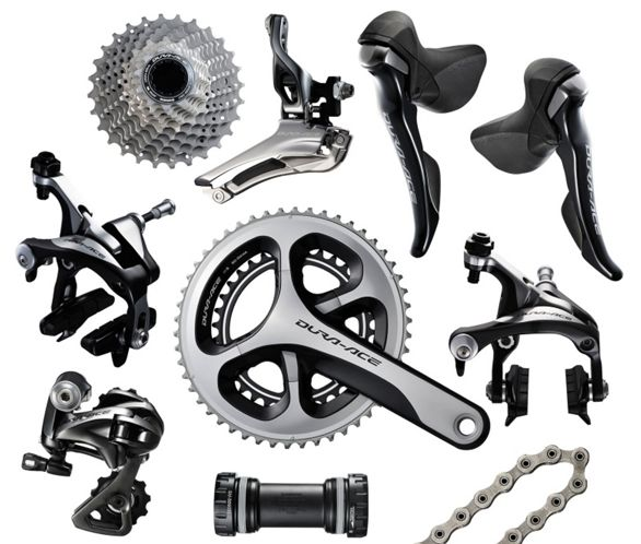 Dura Ace 9000 >> Shimano Dura Ace 9000 11 Speed Groupset Chain Reaction Cycles