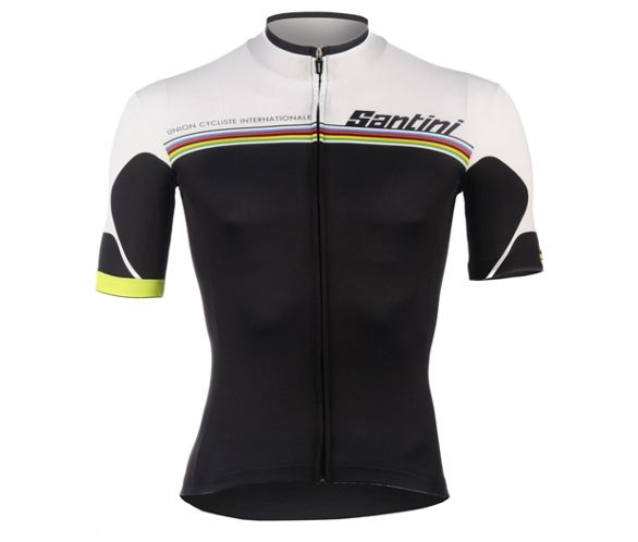 Santini UCI Rainbow Fashion Full Zip Jersey 2014  92738c0a0