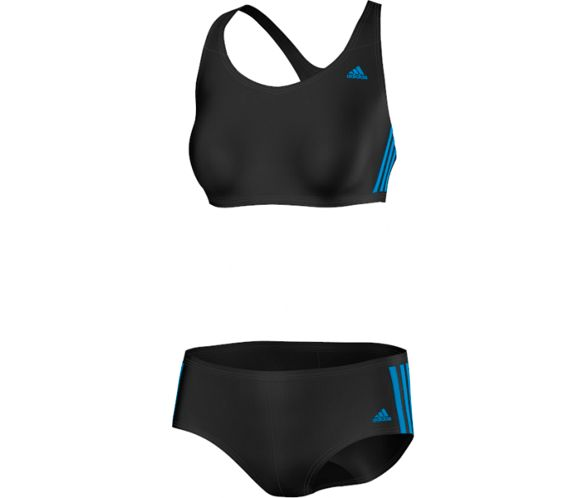 9fb2df1588 Maillot de bain Adidas 3 bandes 2 pièces AW14 | Chain Reaction Cycles