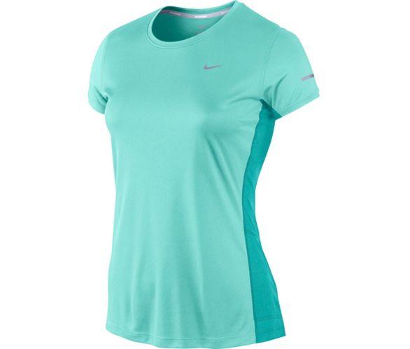 venta online venta usa online nueva llegada Camiseta de manga corta de Mujer Nike Miler AW14   Chain ...
