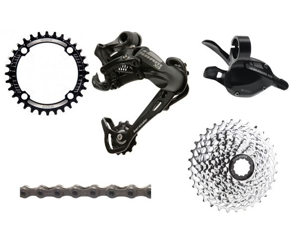 982f29d9fbc SRAM X5 1x10 Speed Drivetrain Bundle. Write the first review. View Images