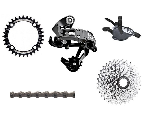 65fa842fe29 SRAM X7 Type 2 1x10 Speed Drivetrain Bundle. Write the first review. View  Images