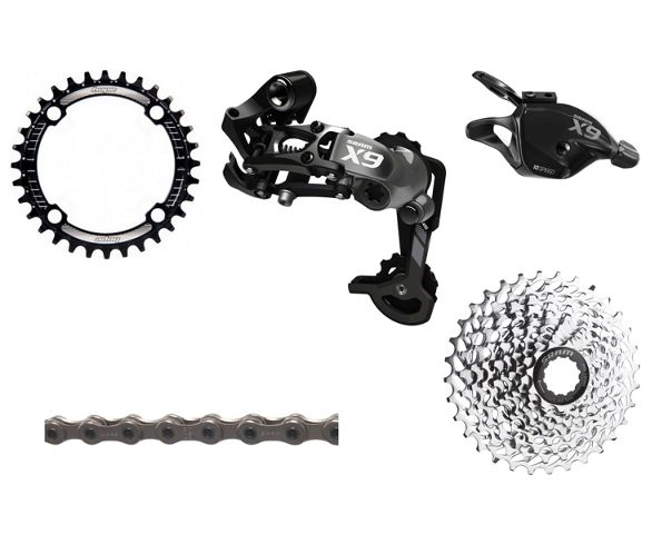 ab4fc5ee84c SRAM X9 Type 2 1x10 Speed Drivetrain Bundle. Write the first review. View  Images