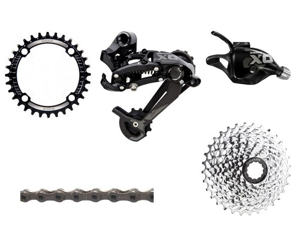 e756a12ead7 SRAM X0 Type 2 1x10 Speed Drivetrain Bundle. Write the first review. View  Images