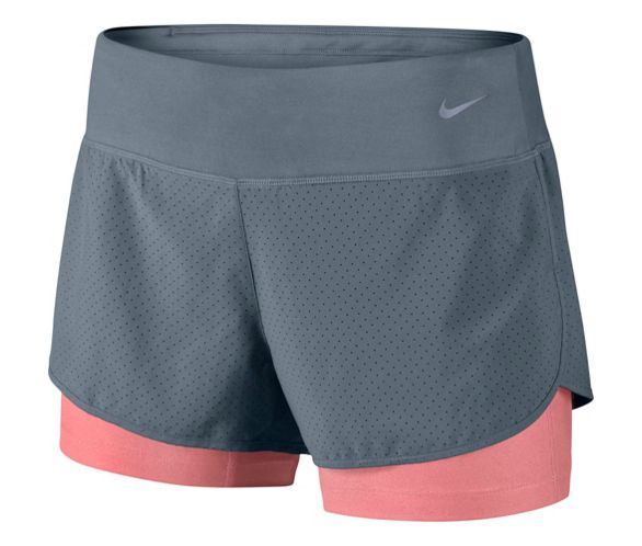 c2b845a2cecbf Nike Womens Perforated Rival 2-in-1 Shorts SS15 | Chain Reaction Cycles