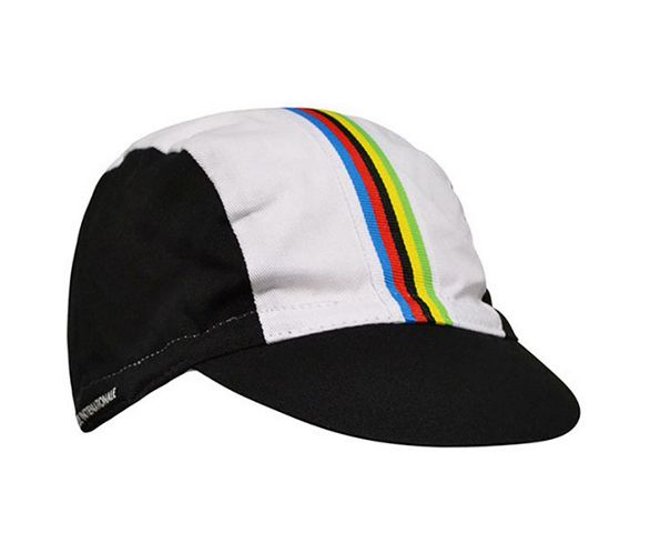 Santini UCI Rainbow Fashion Race Cap 2015  685ec1986