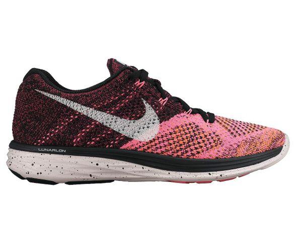 check out c2e5c 1b914 Nike Womens Flyknit Lunar 3 Running Shoes