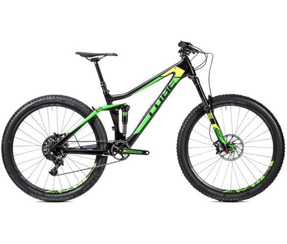 super cheap on feet shots of look for Cube Stereo 140 C:62 SL Suspension Bike 2016 | Chain ...