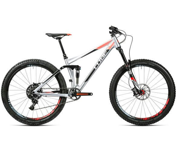 7b3426277b8 Cube Stereo 140 HPA SL Suspension Bike 2016 | Chain Reaction Cycles