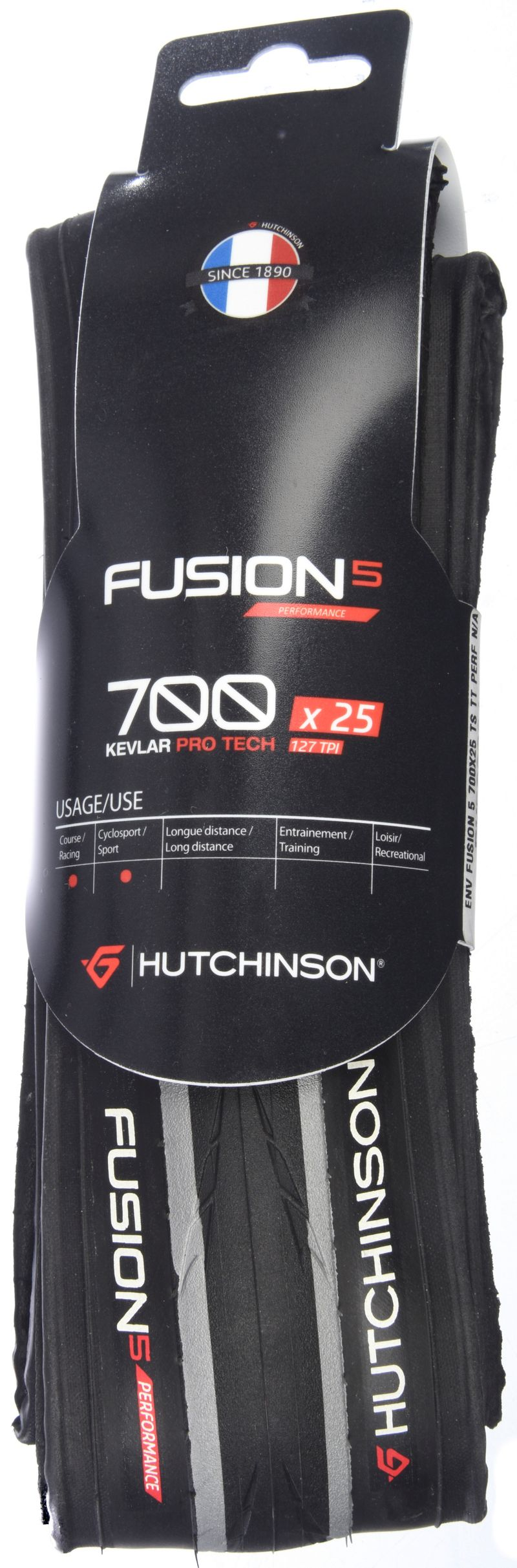 Hutchinson Fusion 5 Kevlar Pro ロードタイヤ 2017