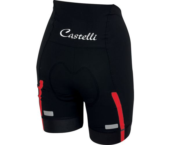 Black Castelli Velocissima Womens Cycling Bib Shorts