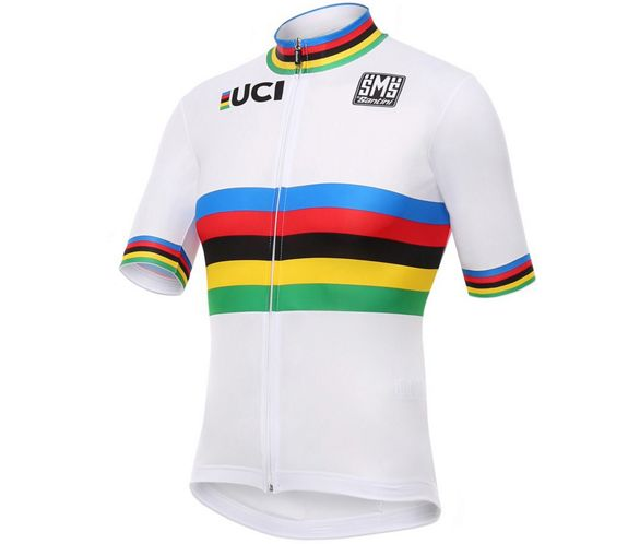 3a277d1c Santini UCI World Road Champion Rainbow Jersey 2016 | Chain Reaction ...
