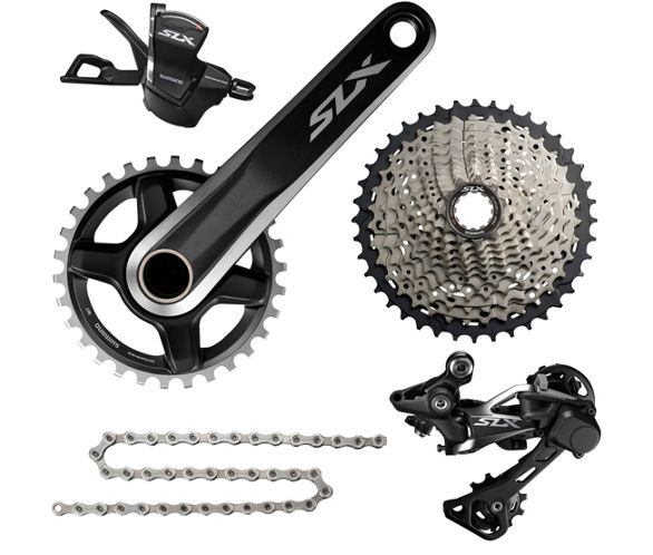 c0a377bbd9f Shimano SLX M7000 1x11 Drivetrain Groupset | Chain Reaction Cycles