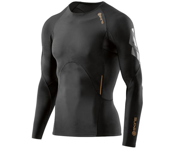 01e5a32928b43 Skins A400 Oblique Long Sleeve Top SS17 | Chain Reaction Cycles