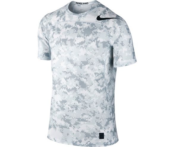 a61c1df53 Nike Hypercool Fitted Camo Top SS17 | Chain Reaction Cycles