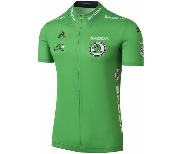 a0dd298db Le Coq Sportif Tour de France 2017 Replica Jersey Green SS17