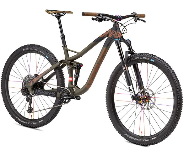 8f925e2db NS Bikes Snabb 130 Plus 1 Suspension Bike 2018