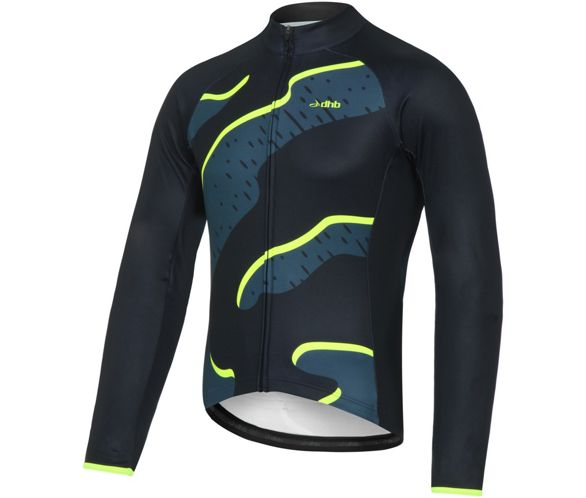 dhb Blok Thermal Long Sleeve Jersey - Strata AW17  c755228f9