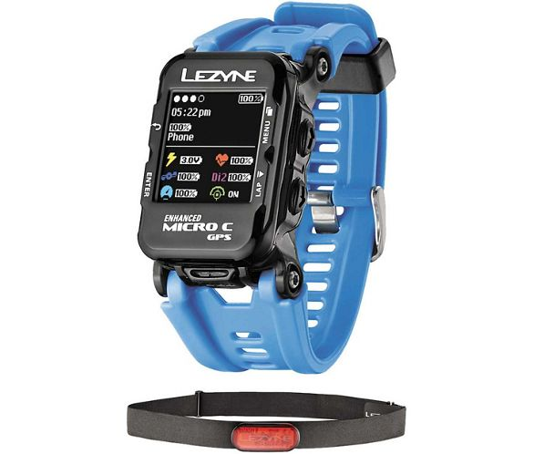e40b4e1317d4 Lezyne Micro Colour GPS Watch w Mapping and HRM 2017
