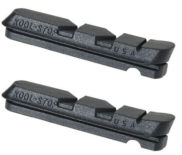 KOOLSTOP DURA ACE//ULTEGRA REPLACEMENT BICYCLE BRAKE PAD INSERTS FOR CARBON RIMS