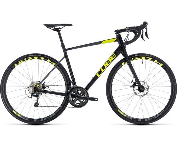d6581cbe574 Cube Attain Race Disc Road Bike 2018 | Chain Reaction Cycles