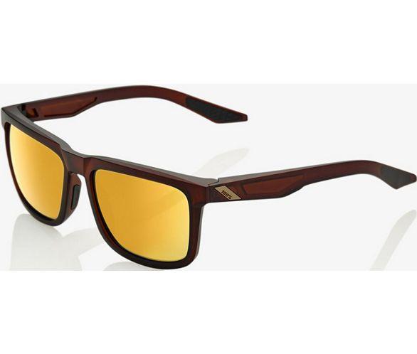 100% Blake Sonnenbrille (Flash Gold Gläser) SS18 | Chain