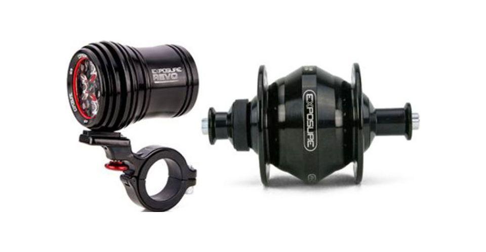 Picture of Exposure Revo Pack Dynamo Light 32 Spoke
