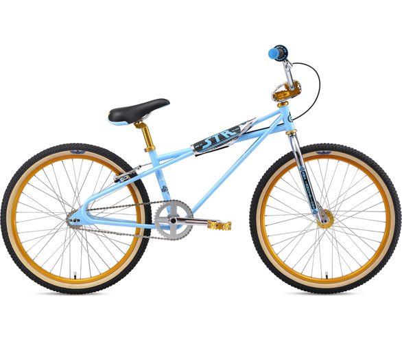 Old School BMX SE Racing QUADANGLE Pad Re Made Sets frame handlebar stem white