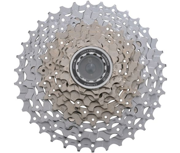 9d83f5126453 Shimano SLX HG80 9 Speed MTB Cassette   Chain Reaction Cycles