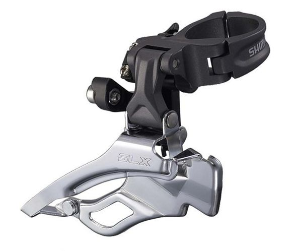 SHIMANO SLX FD-M667 MTB Bike Clamp-on 34.9mm Double 9-speed Front Derailleur