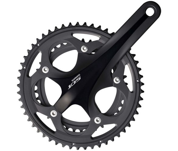 132130a2856 Shimano 105 5700 Double 10sp Chainset. 4.5 / 5. Read all 32 reviews Write a  review. View Images. View 360