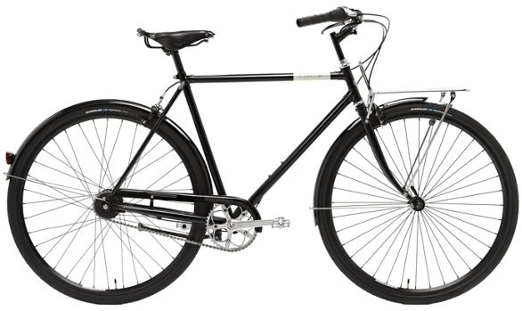 Creme Cafe Racer Doppio Mens Single Speed Bike 2012 Chain Reaction