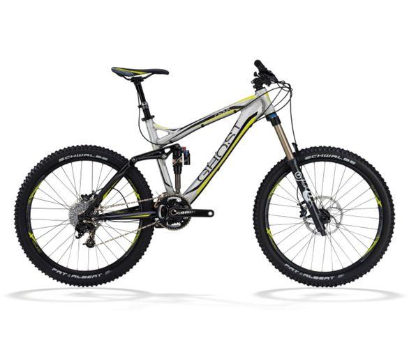 4c102df459c1 Ghost Cagua Suspension Bike 2012