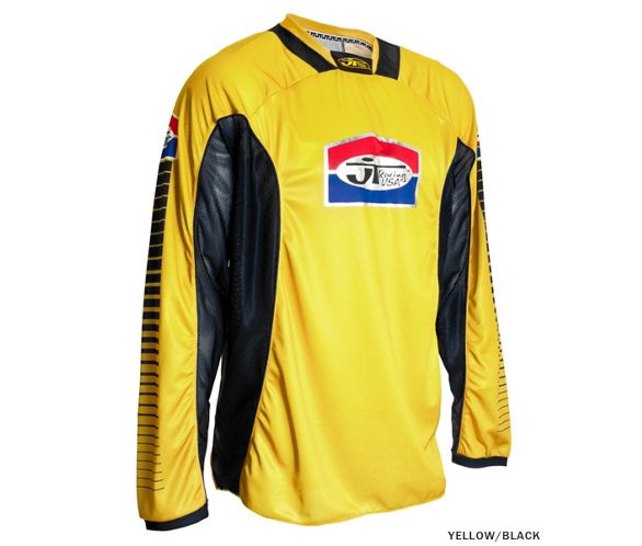 JT Racing Pro Tour Jersey - Yellow-Black   Chain Reaction Cycles