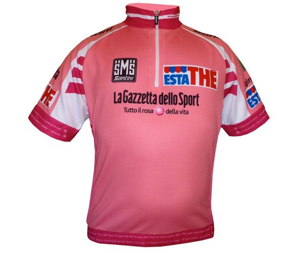 Santini Giro Leader 14cm Zip Jersey 2012 38538fc75