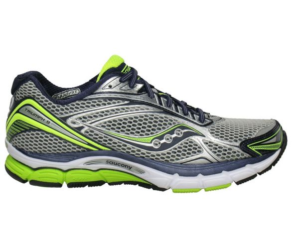 Saucony PowerGrid Triumph 9 Shoes AW12 | Chain Reaction Cycles