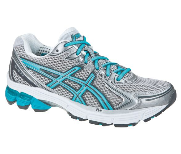 wide fit womens asics gel running trainers