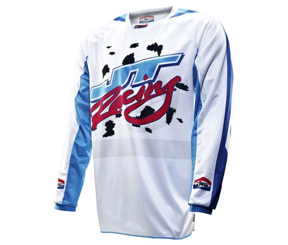 JT Racing Dalmatian Ltd Edition Jersey 2013   Chain Reaction
